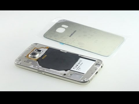 new arrival 44ddc 21503 How to replace cracked Galaxy S6 back cover?