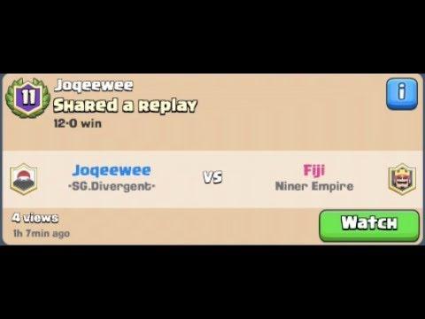Joqeewee (-SG.Divergent-) vs Fiji (Niner Empire) [Classic Challenge 12th win]
