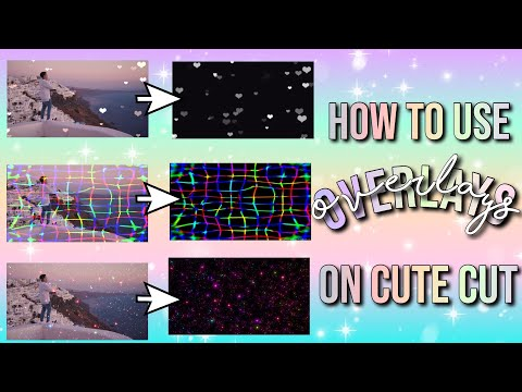 HOW TO USE OVERLAYS ON CUTE CUT PRO