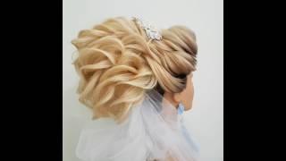 Видеоурок Свадебная прическа