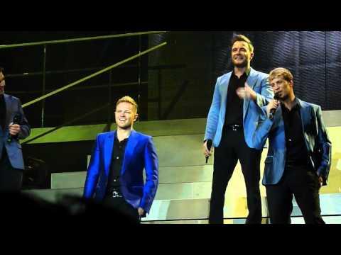 Westlife - Queen Of My Heart - Live Nottingham Arena 5th June 2012