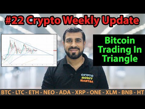 #22 Crypto Weekly Update | Bitcoin Trading In Triangle