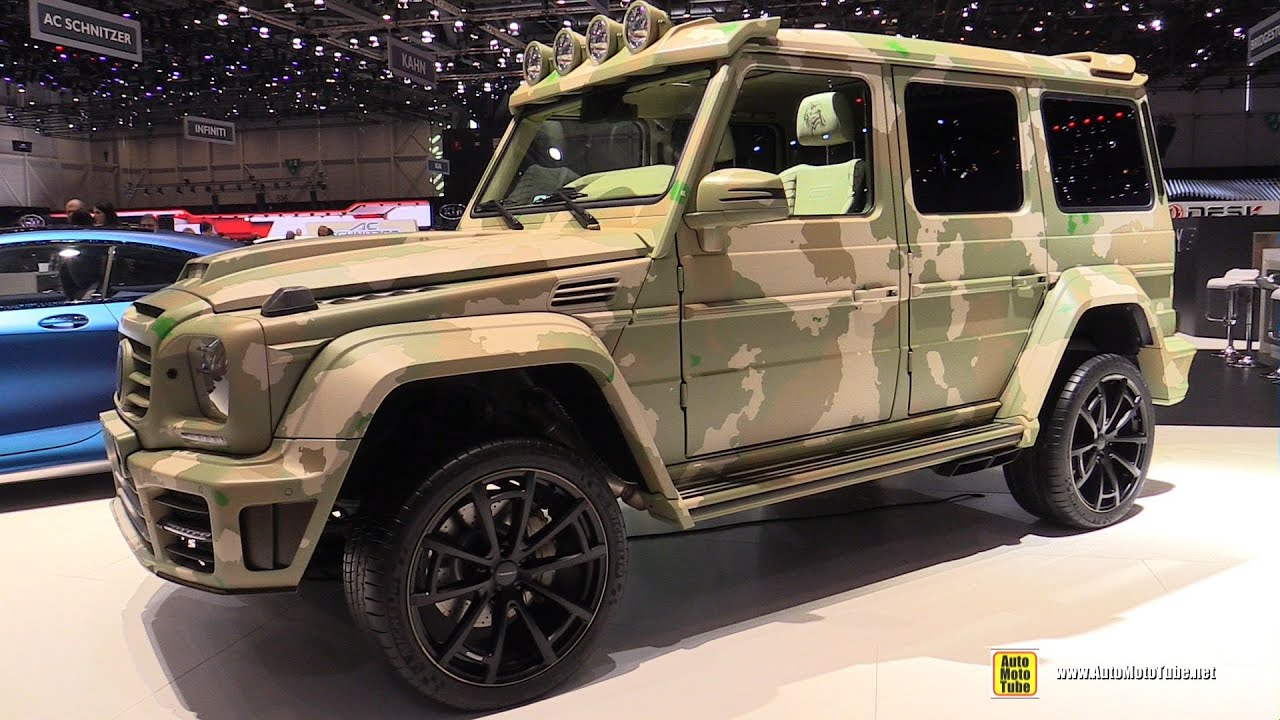 2015 mercedes benz g class g63 amg mansory sahara edition exterior and interior walkaround youtube - Mercedes G Interior 2015