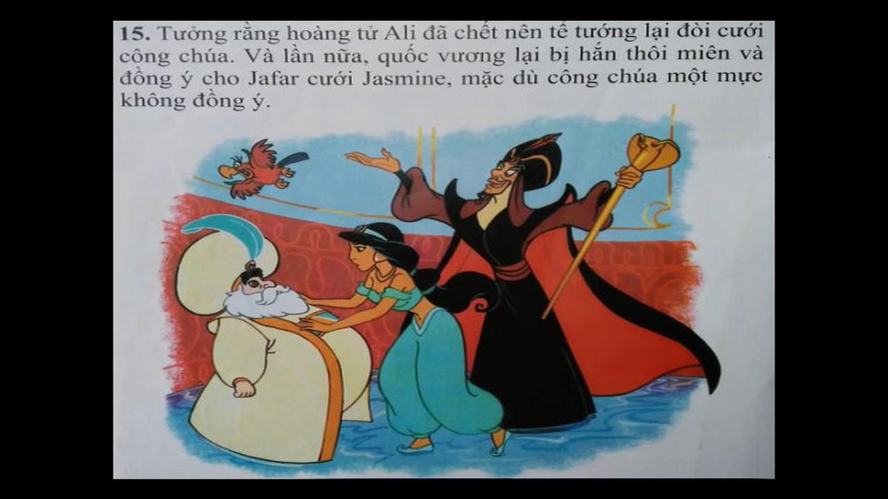 Truyện cổ tích Aladin và cây đèn thần
