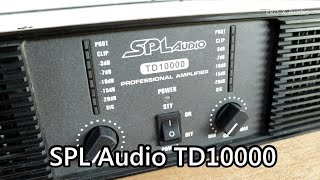 SPL AUDIO TD 10000 Power Amp