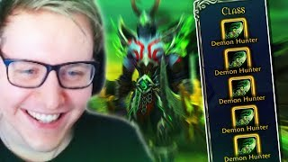 Demon Hunters are The ONLY CLASS in WoW! (Funny Moments)