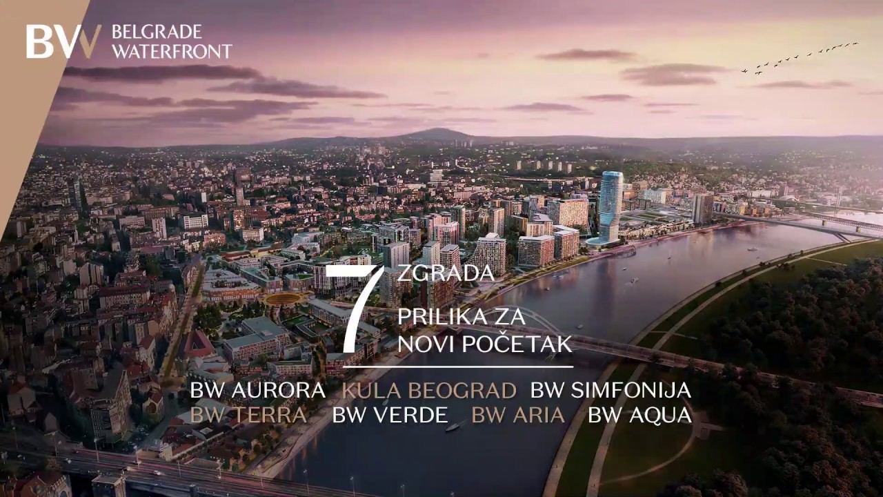 Belgrade Waterfront - Prodajni dan JUL 2020