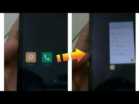 Mengubah tampilan recent app miui v7&v8