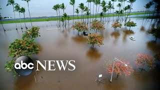 Tropical Storm Lane continues to hit Hawaii