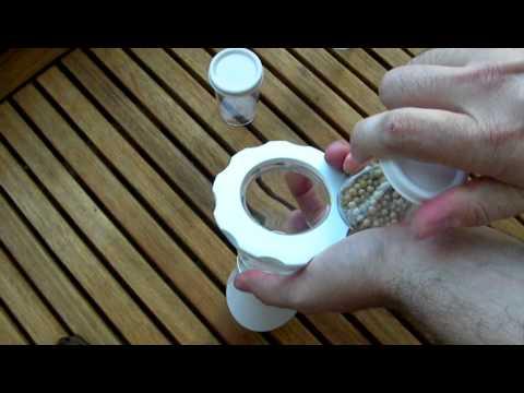 Kuhn Rikon Vase Spice Grinder Youtube
