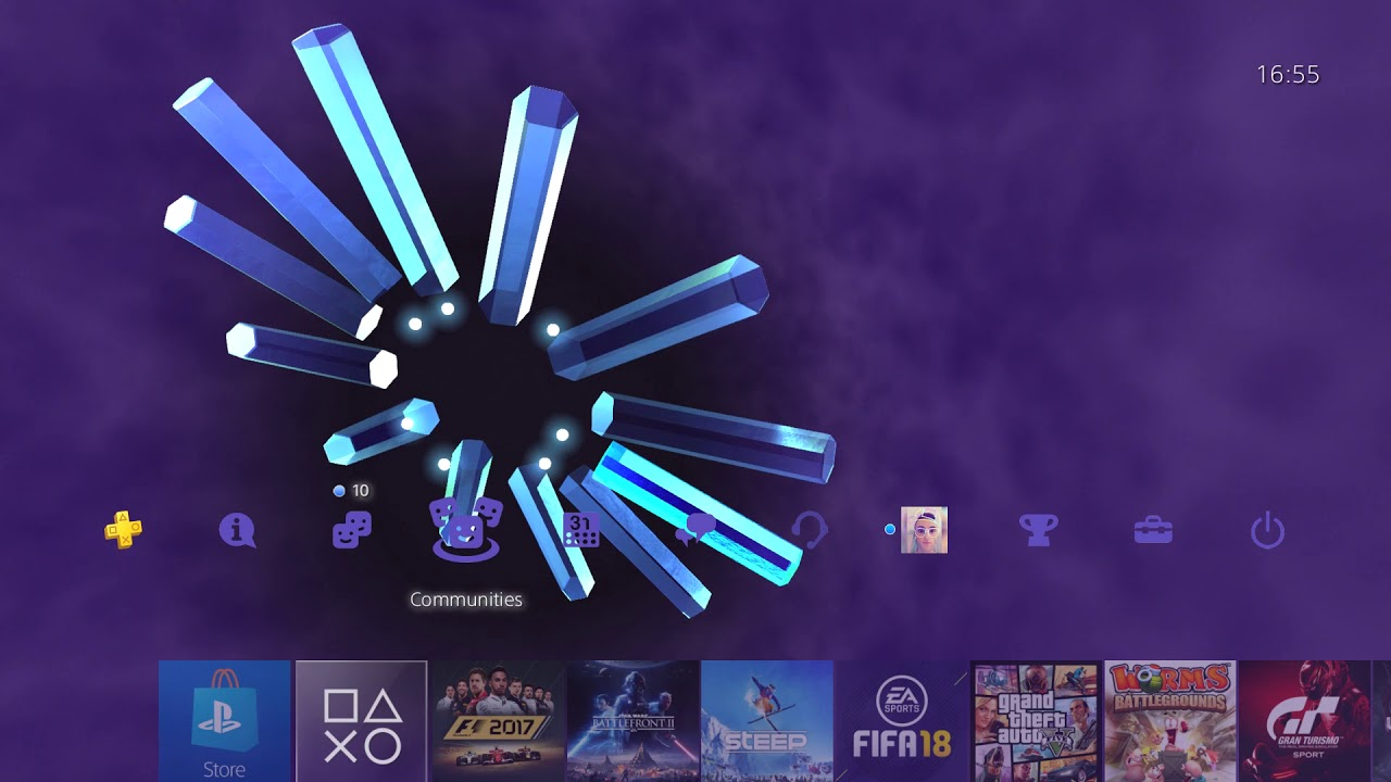 PlayStation 2 Legacy Theme - NEW PS4 THEME!