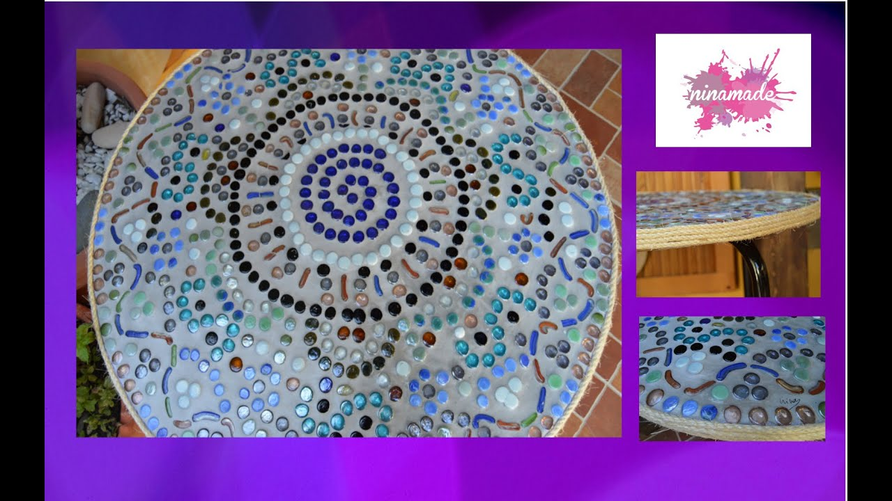 Mesas Mosaico Segunda Mano Diy Mesa Mosaico Moisaic Table Youtube