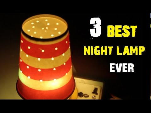 Kitchen Life Hacks - 3 Awesome Ways To Make A Simple Night Lamp [DIY]