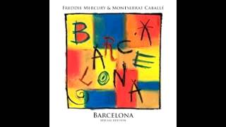 """Barcelona""- Freddie Mercury & Montserrat Caballe- Barcelona [Special Edition] (2012)."