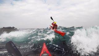 Sea kayaking around Inishowen (Ireland)