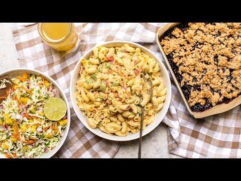 Summer Vegan Picnic Recipes (Healthy & GF!)