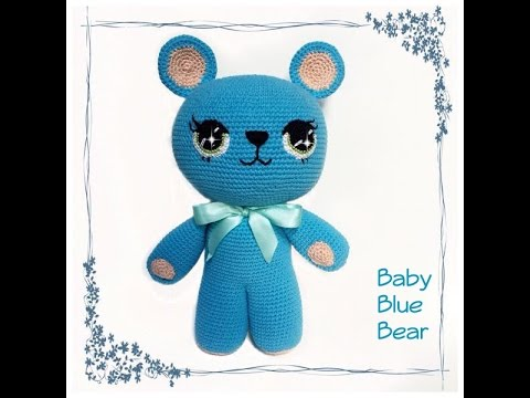 Crochet/amigurumi Baby Blue Bear Tutorial
