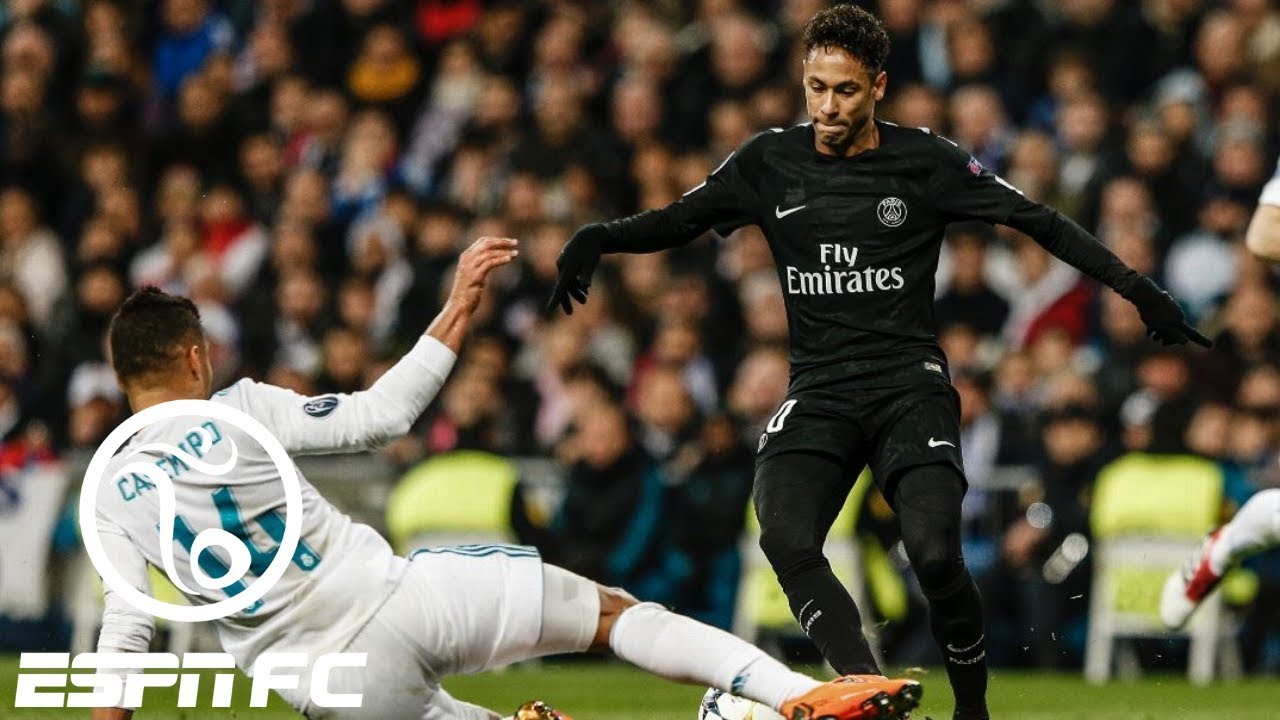 Neymar 'better look at himself in the mirror after' PSG's 3-1 UCL loss to Real Madrid | ESPN FC