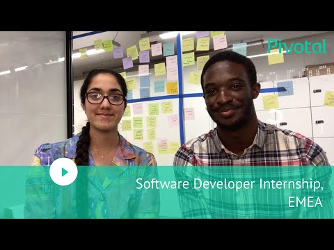 EMEA - London - Join us as a Software Developer Intern