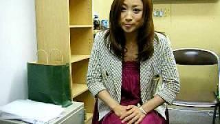 2009年7月18日(土)にDVD4649 2号店でサイン会後のコメ...