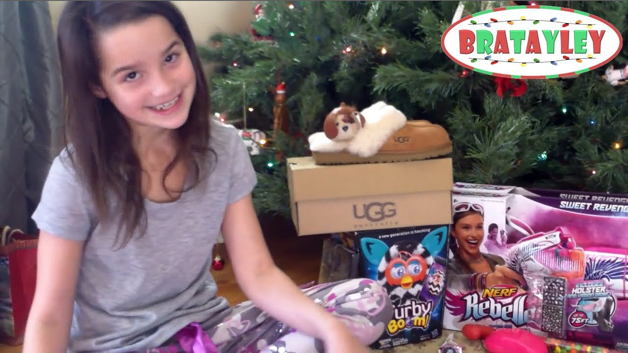 Christmas Morning With Bratayley 2013 | Christmas Gift Haul (WK ...