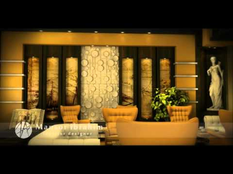 short animation film .. library hotel 's interior design by Mansor ibrahim