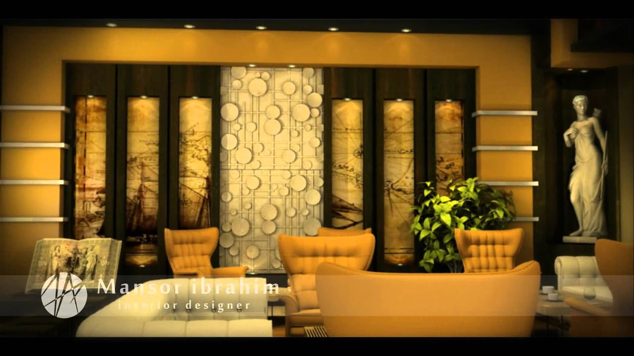 Short Animation Film . Library Hotel ' Interior Design