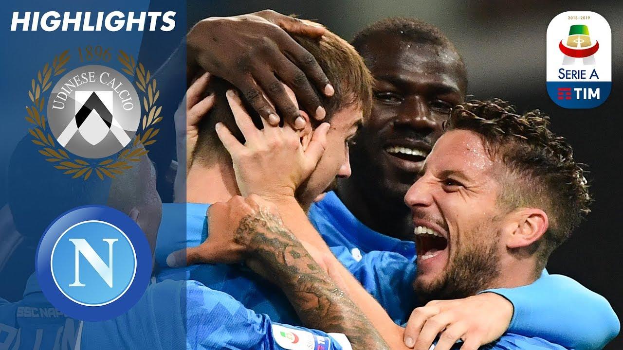 Resultado de imagen para Napoli 3 x 0 Udinese Serie A 2018 - 19