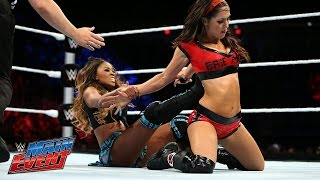 Brie Bella vs. Cameron: WWE Main Event, September 16, 2014