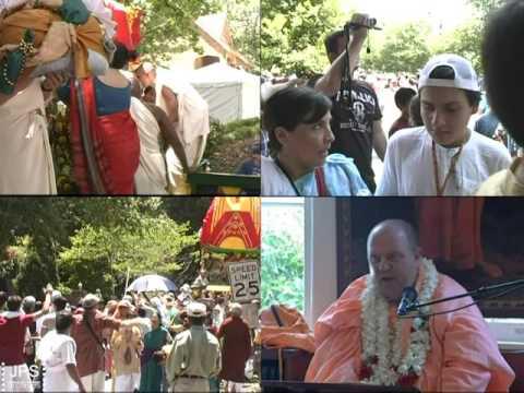 H.H.Jayapataka Swami attends Atlanta Ratha Yatra every year since 1988.