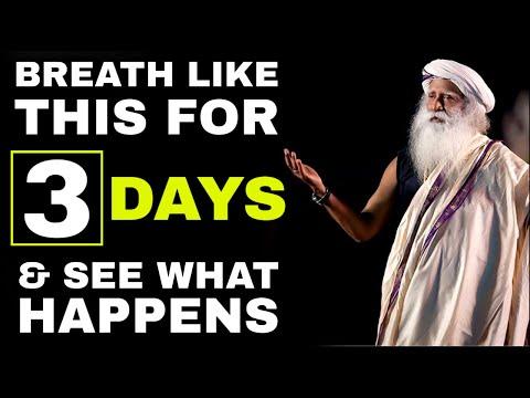 Sadhguru - Psychological Effects Of Deep Breathing | Sadhguru Mystic Yogi