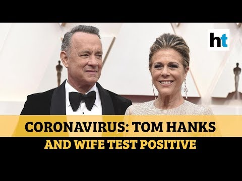 Coronavirus: Tom Hanks and his wife Rita Wilson test positive from YouTube · Duration:  1 minutes 37 seconds