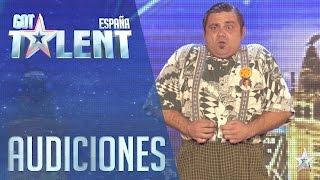 Manolo y sus imitaciones de animales | Audiciones 5 | Got Talent España 2016