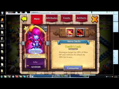 Castle Clash Tutorial: Succubus