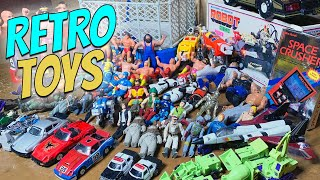 Amazing 70s/80s Retro Toys Found In Estate Sale Garage