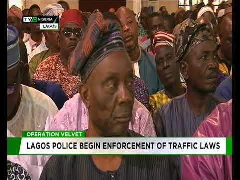 Operation Velvet: Lagos Police begin enforcement of traffic laws