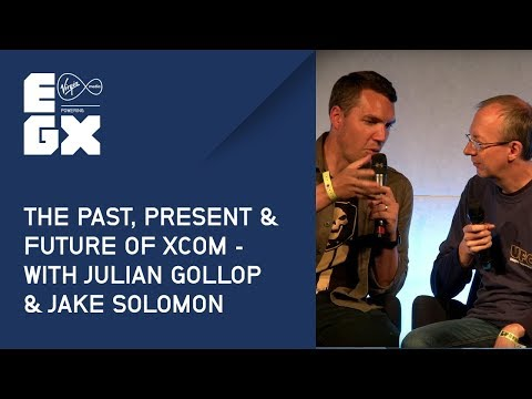 The Past, Present & Future of XCOM with Julian Gollop & Jake Solomon from EGX 2017