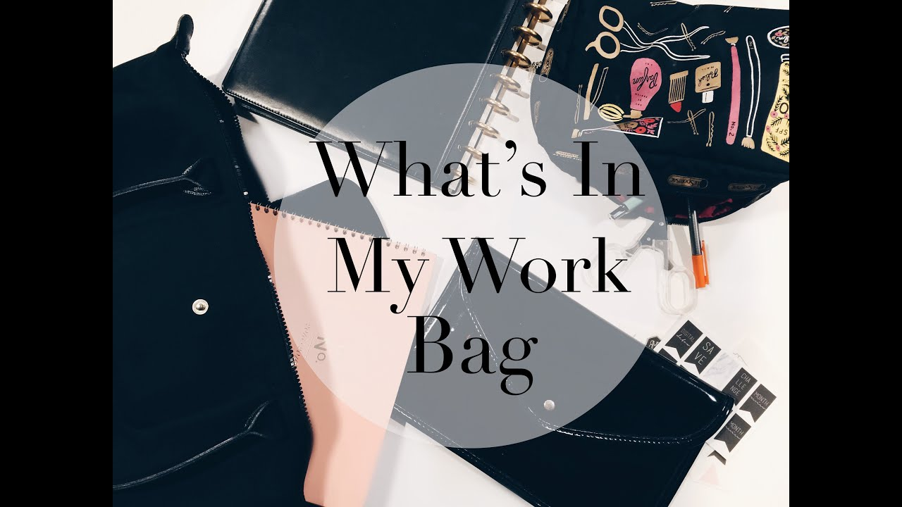 9beefb3e500 What's In My Work Bag | Longchamp Le Pliage Neo