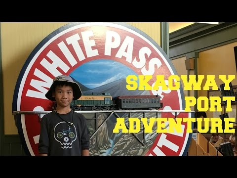Disney Wonder Alaska Cruise 2016 | SKAGWAY, YUKON WHITE PASS RAIL