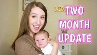 TWO MONTH BABY UPDATE | POSTPARTUM UPDATE | Erika Ann
