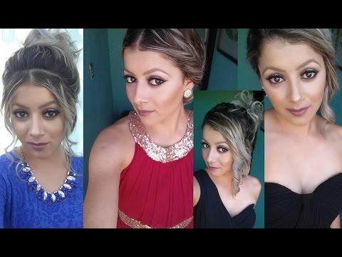 4 Peinados Muy Chulos Para Fiesta Formal Cabello Corto Youtube