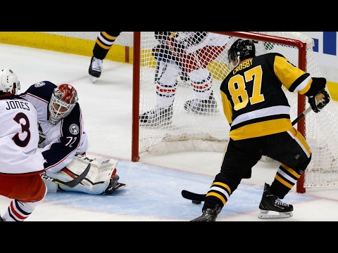 Crosby collects three points as Penguins take Game 2 over Blue Jackets