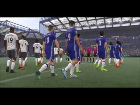 FIFA 17 Sim Chelsea V.s Manchester United (Premier League) 22/10/2016