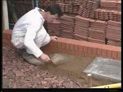 Brickwork  Laying slabs  YouTube