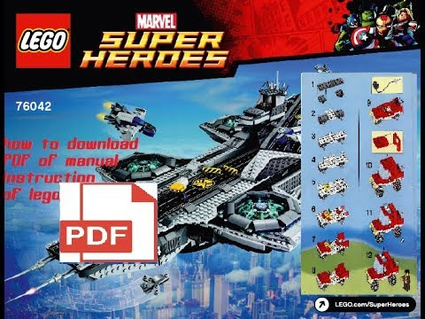 How To Download Lego Instructions In Pdf Turn On Subtitles Youtube