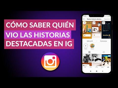Cómo SABER QUIÉN VIO mis Historias Destacadas de Instagram - Instagram Stories