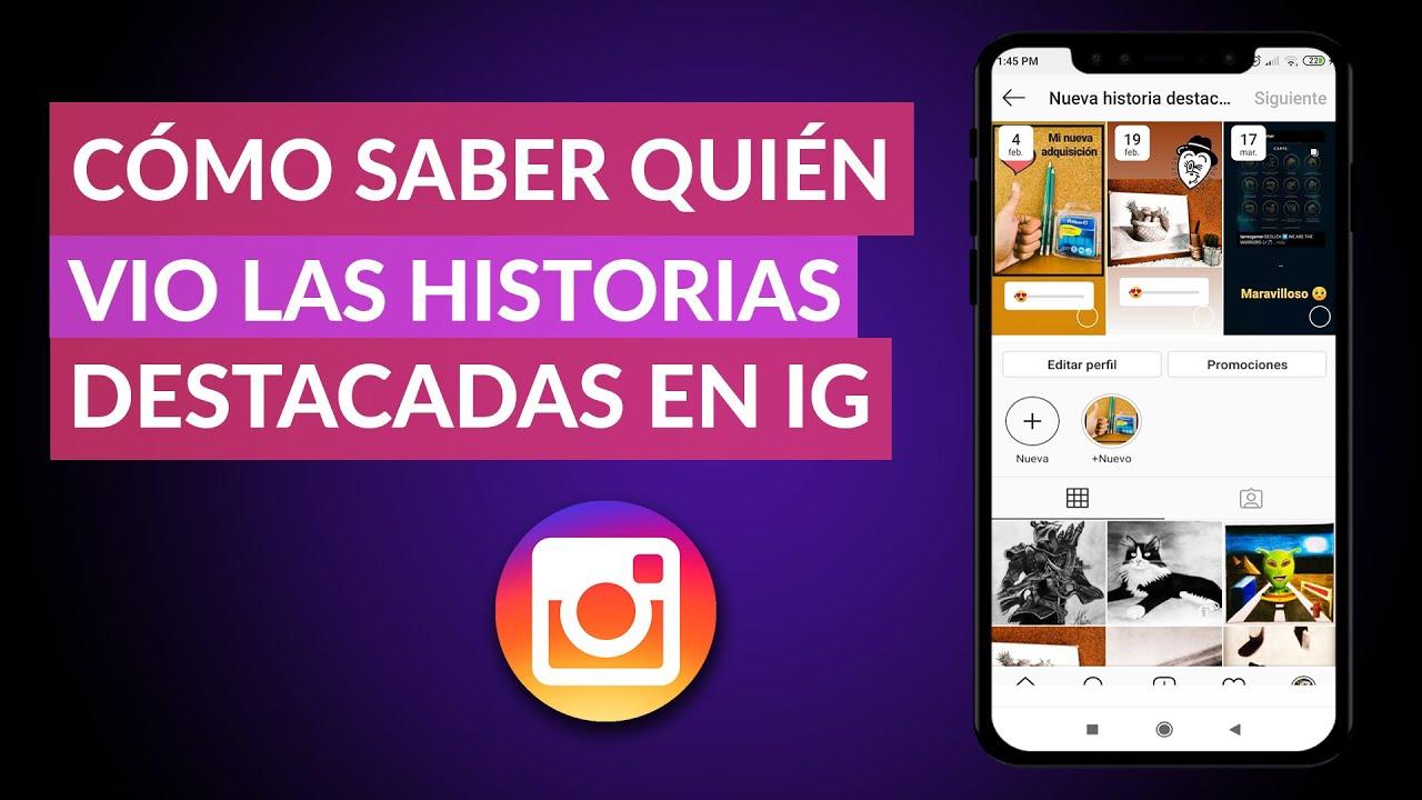 Cómo Saber Quién Vio Mis Historias Destacadas De Instagram Instagram Stories Youtube