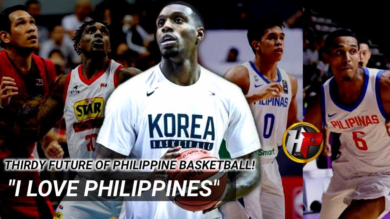 Hanggang ngayon ay mahal parin niya ang PILIPINAS| Thirdy Future daw ng Phillipine basketball?