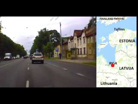 Most interesting Routes - from Riga (LV) to Tallinn (EST)