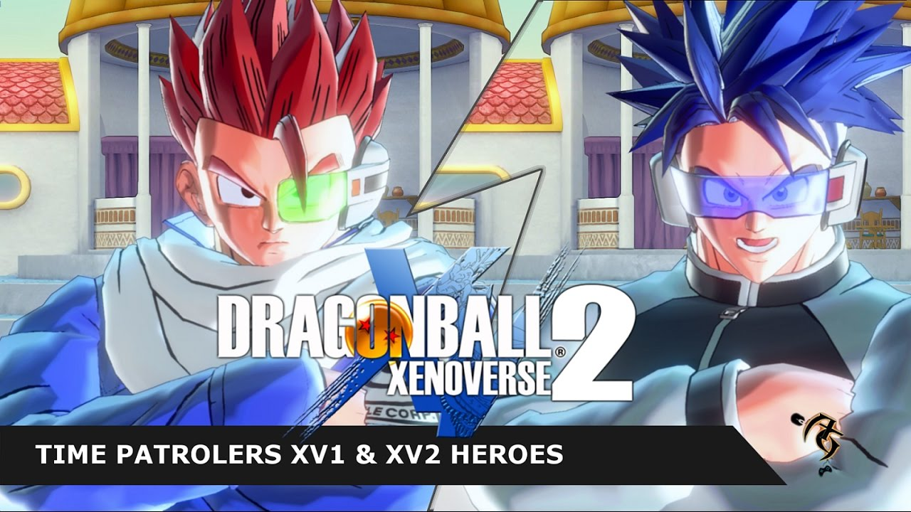 Dragon Ball Xenoverse 2 Mods: Heroes Time Patrolers Xenoverse mods XV1 & XV2